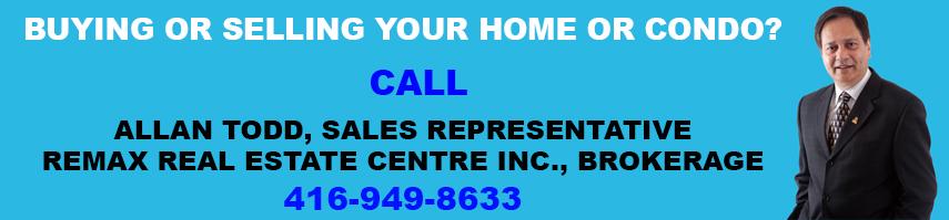 Allan Todd Sells City Centre Mississauga Condos and Homes